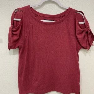 Abercrombie & Fitch Capped Sleeve Top